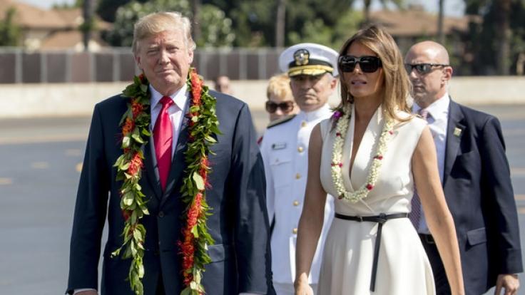 Wie steht es tatsächlich um die Ehe von Melania und Donald Trump?
