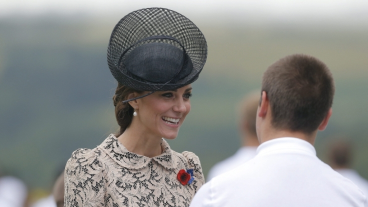 Bei Herzogin Kate gab es in dieser Woche wieder reichlich Wirbel. (Foto)