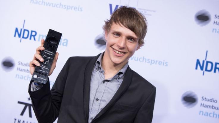 """Merlin Rose wurde für seine Rolle in """"Aus der Haut"""" als bester Nachwuchsschauspieler ausgezeichnet. (Foto)"""