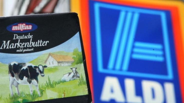 Bei der Preissenkung für Butter blieb es nicht: Aldi brachte auch die Preise für weitere Produktgruppen ins Wanken. (Foto)