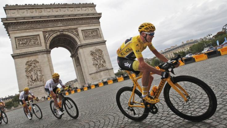 Wie gewohnt endet auch die Tour de France 2018 auf demChamps Elysees in Paris. (Foto)