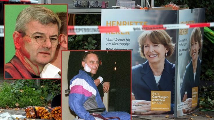 Henriette Reker, Joschka Fischer, Wolfgang Schäuble - sie alle wurden Opfer blutiger Attentate.