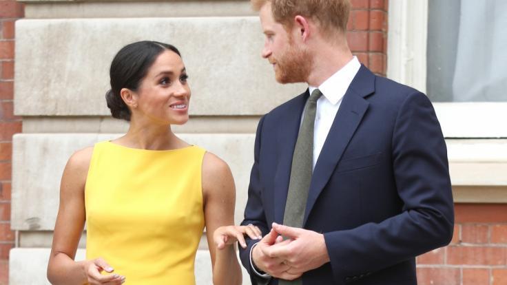 Angeblich soll der Baby-Name von Herzogin Meghans und Prinz Harrys Kind bereits feststehen.