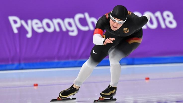 Claudia Pechstein möchte bei Olympia 2018 noch eine Medaille holen. (Foto)