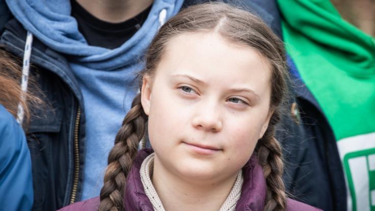 Ist Greta Thunberg eine Zeitreisende? (Foto)