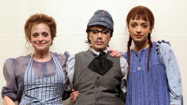 Das Thalbach-Trio: Katharina, Anna und Nellie Thalbach (von links). (Foto)