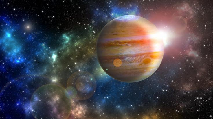 Jupiter ist derzeit rückläufig. Wir verraten, was der retrograde Glücksplanet für Sie bedeutet. (Foto)