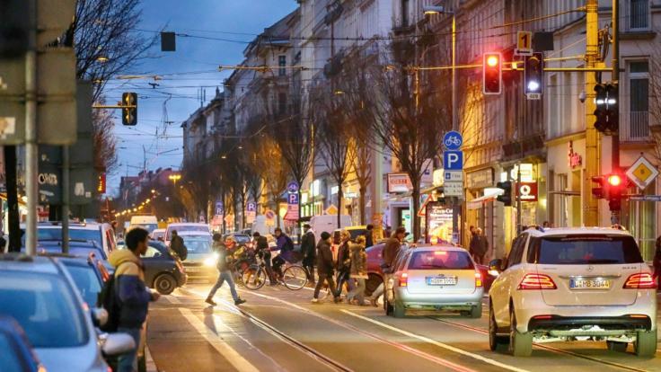 Im Brennpunktviertel Volkmarsdorf versuchten Anwohner und Aktivisten eine Abschiebung zu verhindern. (Symbolbild)
