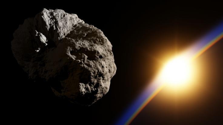 An den nächsten Tagen kommen gleich mehrere Asteroiden der Erde gefährlich nah. (Foto)