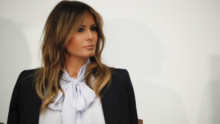 Melania Trump wirkt nicht immer glücklich als First Lady.