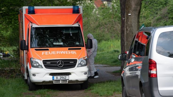 Der junge Mann wurde leblos in einem Berliner Park gefunden. (Foto)