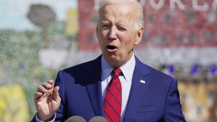 Joe Biden sieht sich mit schlimmen Anschuldigungen konfrontiert. (Foto)