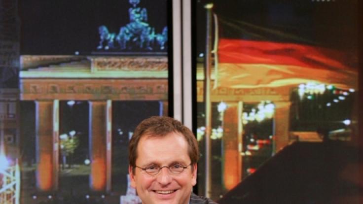Vor der Kamera war Ben Wettervogel stets gut gelaunt. (Foto)