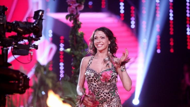 """Jana Pallaske versexte bei """"Let's Dance"""" mit einer heißen Dschungel-Nummer. (Foto)"""
