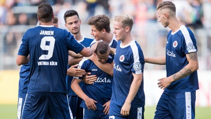 HeimspielFC Viktoria Köln:Die aktuellen Spielergebnisse der 3. Fußball-Liga bei news.de. (Foto)