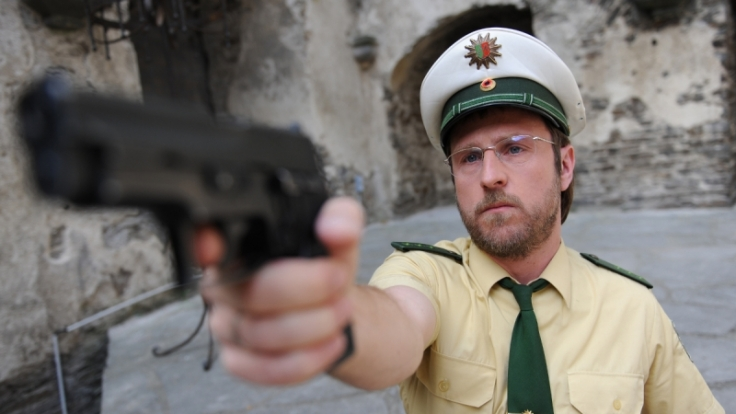 Bjarne Mädel ist als Dietmar Schäffer normalerweise eher der gemütliche Typ. (Foto)