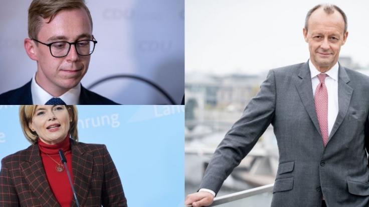 Amthor, Klöckner, Merz: Diese Politiker schockierten uns 2020. (Foto)