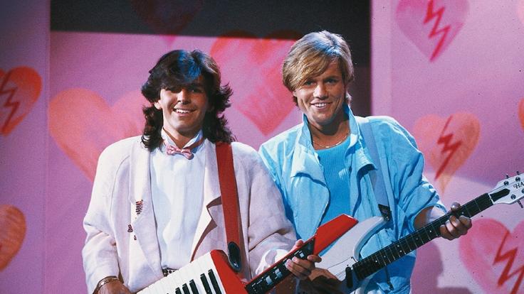 Thomas Anders (l.) und Dieter Bohlen feierten in den 80er Jahren als Modern Talking weltweite Erfolge. (Foto)