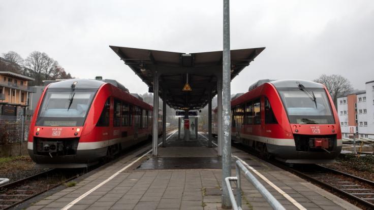 Die Deutsche Bahn stellt am 13.12.2020 auf den neuen Winterfahrplan um. (Foto)