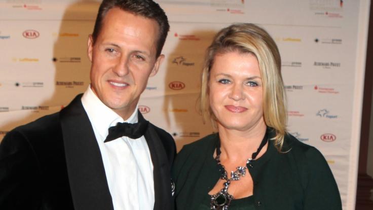 Michael Schumacher und seine Frau Corinna im Jahr 2012.