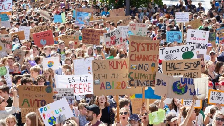 Auch für den Erdüberlastungstag werden wieder Klimademonstrationen erwartet. (Foto)