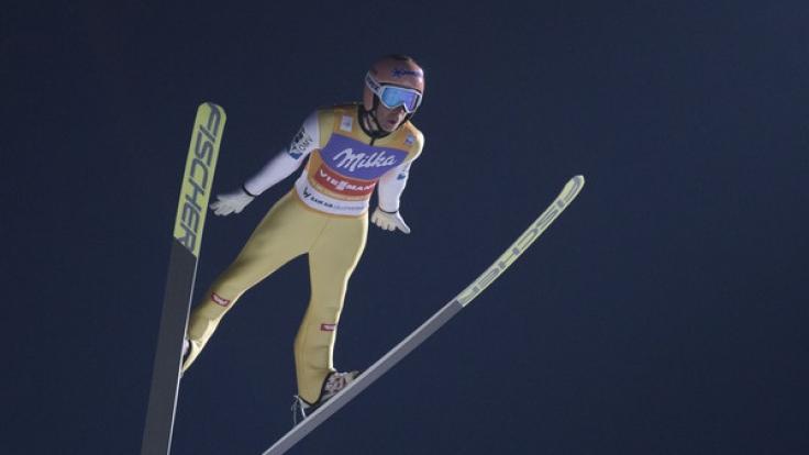 Skispringer Stefan Kraft aus Österreich.