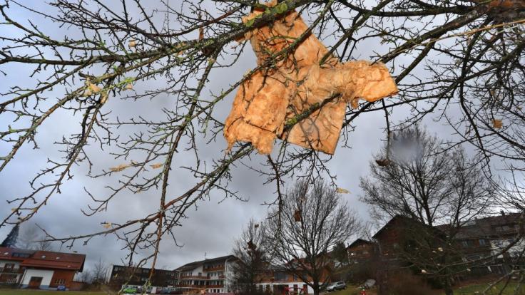 """Tief """"Kirsten"""" bringt den ersten Herbststurm des Jahres nach Deutschland. (Foto)"""