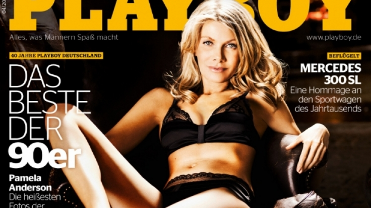 Die traut sich was: Ursula Karven zeigt mit 47 im Playboy, was sie hat. (Foto)