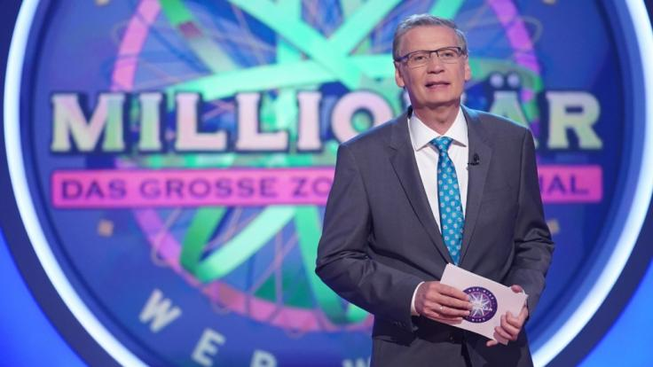 """Günther Jauch stellt nur selten die 2-Millionen-Euro-Frage bei """"Wer wird Millionär"""". (Foto)"""