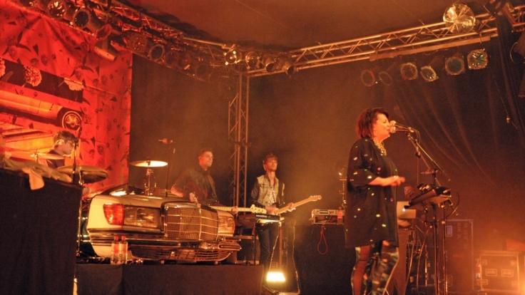 Miss Platnum im Werk 2 in Leipzig