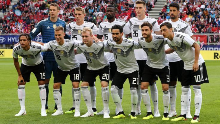 Die Startelf gegen Saudi-Arabien wird sich von jener gegen Österreich (siehe Foto) leicht unterscheiden.