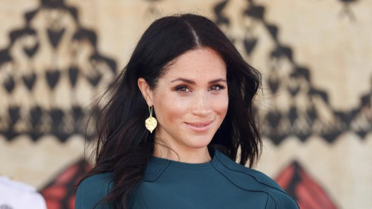 Meghan, Herzogin von Sussex, während ihrer ersten gemeinsamen Auslandsreise seit ihrer Hochzeit mit Prinz Harry.