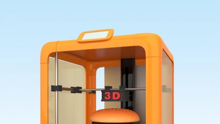 Nahrung aus dem 3D-Drucker könnte bald unser Leben verändern.