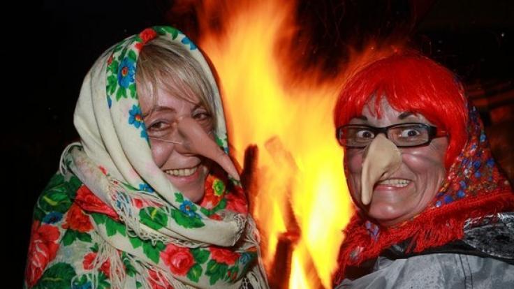 Im Harz sind auch zur Walpurgisnacht 2017 wieder Teufel und Hexen unterwegs.