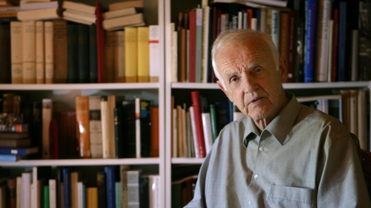 Günter de Bruyn starb im Alter von 93 Jahren. (Foto)