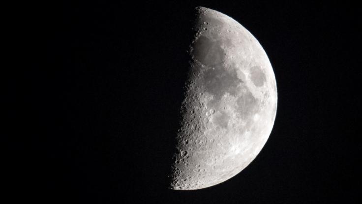 Gab es Leben auf dem Mond? (Foto)