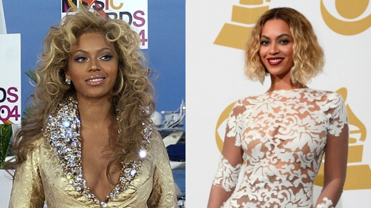 Auch Beyoncé scheint zu Beginn ihrer Solokarriere noch einen etwas dunkleren Teint gehabt zu haben.