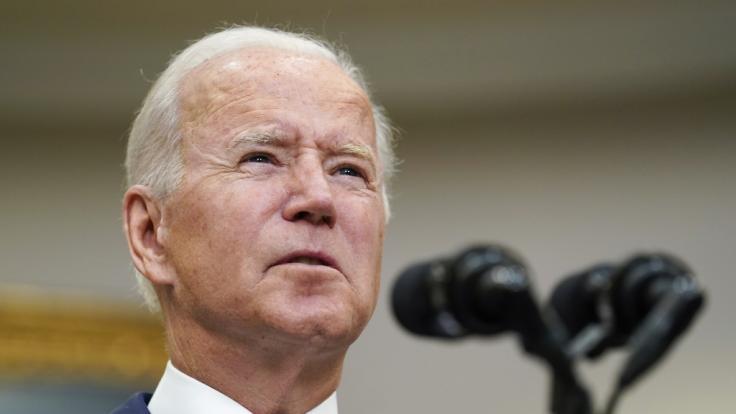 Versagen im großen Stil? Für seine Afghanistan-Politik wird US-Präsident Joe Biden heftig gescholten. (Foto)