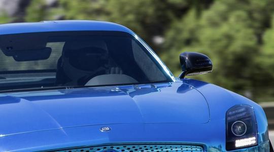 Die besten Bilder zu Mercedes-Benz SLS AMG Coupé Electric Drive: Elektro mal vier (Foto)