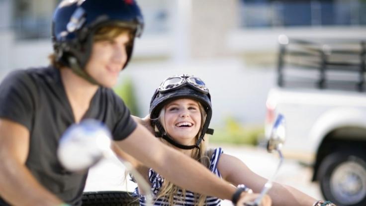 Faszination Bike: Um die große Freiheit ausgiebig genießen zu können, darf die Sicherheit nicht zu kurz kommen. (Foto)