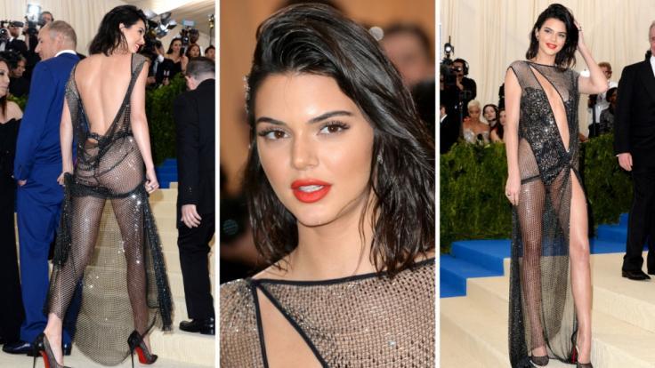 Darf es etwas weniger Stoff sein? Kendall Jenner bei der Met Gala.