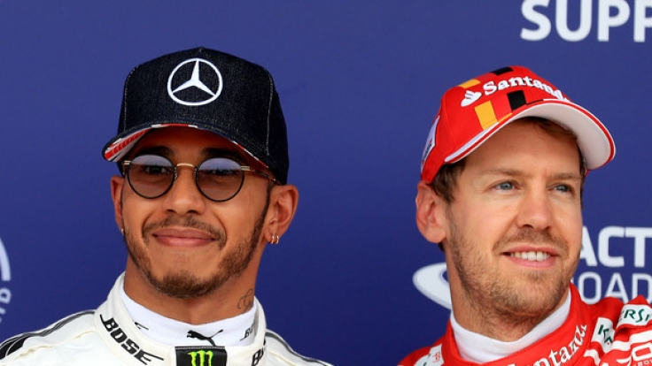 Im Europa-Finale der Formel 1 in Monza kommt es zum nächsten Duell zwischen Sebastian Vettel und Lewis Hamilton. (Foto)
