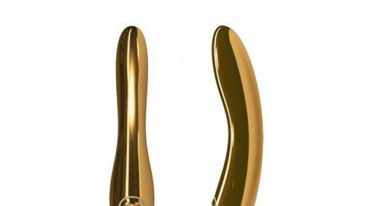 Vibrator aus purem Gold.