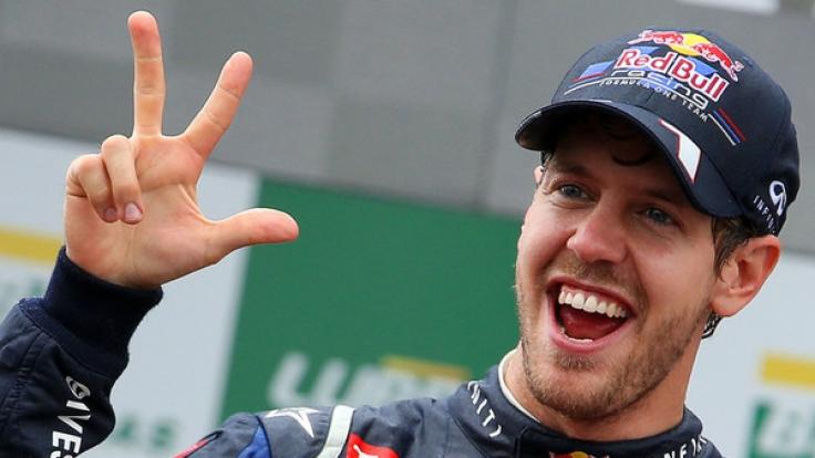 """Formel-1-Legende Sebastian Vettel ist beim """"Race of Champions Nations Cup"""" im US-amerikanischen Miami am Start. (Foto)"""
