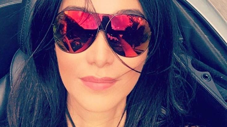 Genießt ihren Luxus: Verona Pooth. (Foto)
