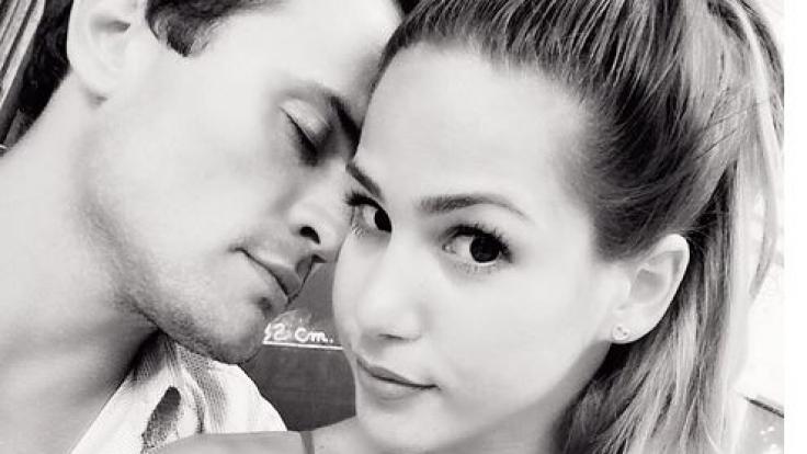 Angelina Heger und Rocco Stark sind seit Januar ein Paar.