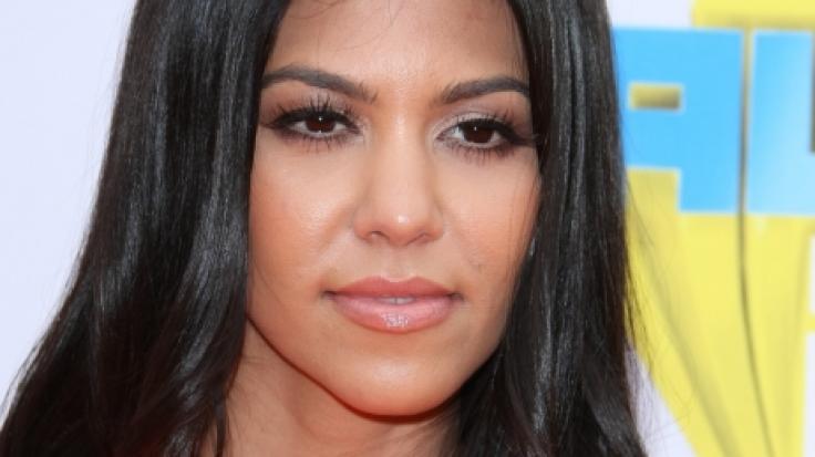 Kourtney Kardashian lässt ihre Fans im Netz schwitzen. (Foto)