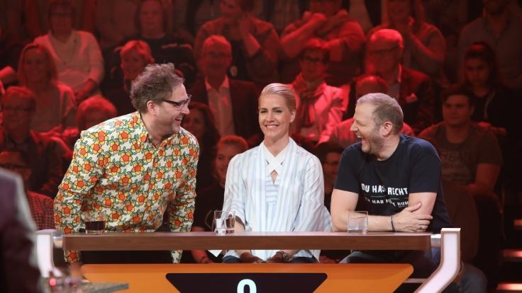"Paul Panzer, Judith Rakers, Mario Barth bei ""Da kommst du nie drauf!"" (Foto)"