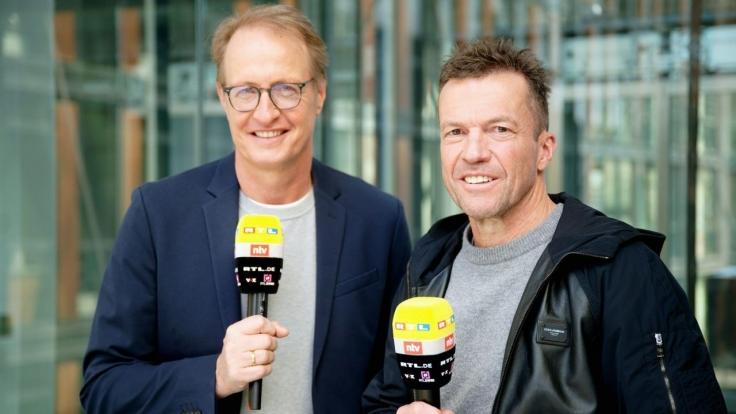 Fußball: Länderspiel bei RTL (Foto)