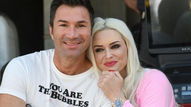 Wünschen sich ein zweites Kind: Lucas Cordalis und Daniela Katzenberger. (Foto)